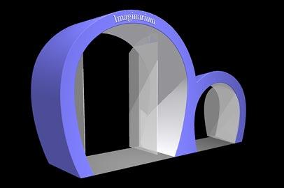 P rticos imaginarium ab re astro barcelona racing for Puerta imaginarium